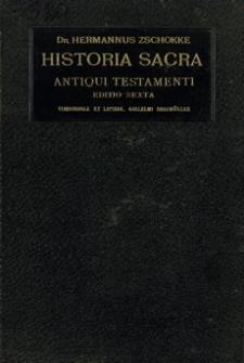 Historia sacra Antiqui Testamenti