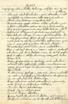 [Protokoły zebrań Kółka Rolniczego w Albigowej : 1936-1941]