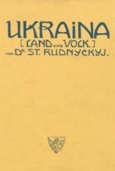 Ukraina : Land und Volk : eine gemeinfassliche Landeskunde
