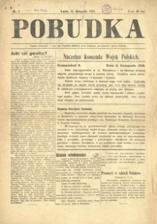Pobudka. 1918, nr 7 (12 listopada)
