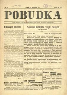 Pobudka. 1918, nr 8 (13 listopada)