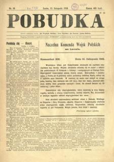 Pobudka. 1918, nr 10 (15 listopada)