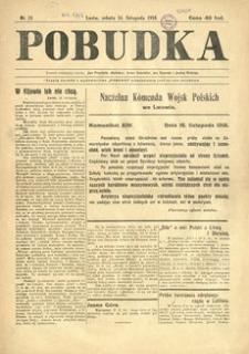 Pobudka. 1918, nr 11 (16 listopada)