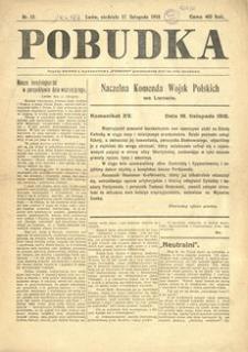 Pobudka. 1918, nr 12 (17 listopada)