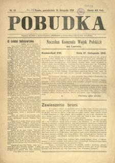 Pobudka. 1918, nr 13 (18 listopada)