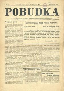Pobudka. 1918, nr 14 (19 listopada)