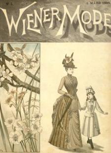 Wiener Mode. 1888, R. 1, nr 5 (marzec)
