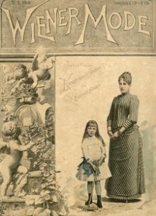 Wiener Mode. 1888, R. 2, Z. 1 (październik)