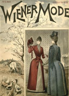 Wiener Mode. 1888, R. 2, Z. 2 (październik)