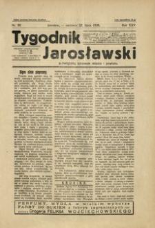 Tygodnik Jarosławski : poświęcony sprawom miasta i powiatu. 1928, R. 25, nr 30 (lipiec)