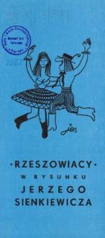 Rzeszowiacy w rysunku Jerzego Sienkiewicza