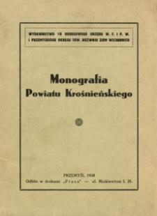 Monografia Powiatu Krośnieńskiego
