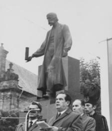 [Obchody 150 rocznicy urodzin Ignacego Łukasiewicza w Krośnie] [Fotografia]
