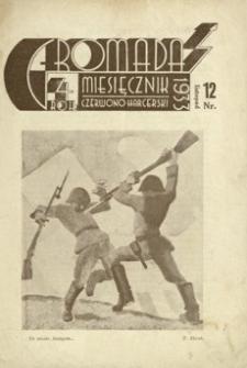 Gromada : miesięcznik czerwono - harcerski. 1933, R. 4, nr 12 (listopad)