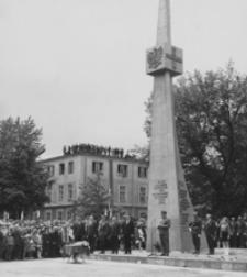 [Odsłonięcie Pomnika Zwycięstwa w Nisku] [Fotografia]
