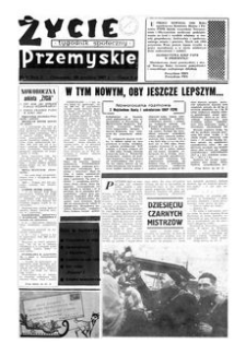 Życie Przemyskie : tygodnik społeczny. 1967, R. 1, nr 8 (28 grudnia)
