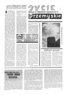 Życie Przemyskie : tygodnik społeczny. 1968, R. 2, nr 26 (34) (26 czerwca)