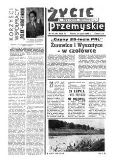 Życie Przemyskie : tygodnik społeczny. 1968, R. 2, nr 28 (36) (10 lipca)
