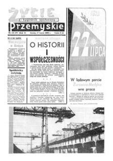 Życie Przemyskie : tygodnik społeczny. 1968, R. 2, nr 29 (37) (17 lipca)