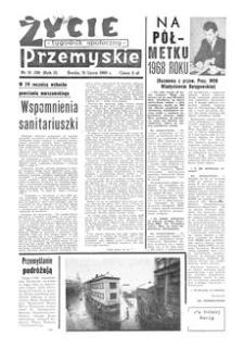 Życie Przemyskie : tygodnik społeczny. 1968, R. 2, nr 31 (39) (31 lipca)