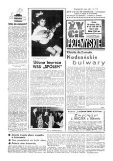 Życie Przemyskie : tygodnik społeczny. 1970, R. 4, nr 23 (136) (10 czerwca)