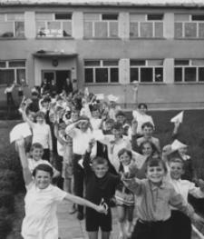[Zakończenie roku szkolnego w Szkole Podstawowej w Kulnie] [Fotografia]