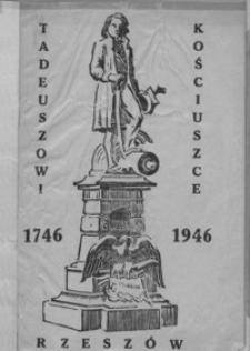 Tadeuszowi Kościuszce : 1746-1946