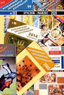 Podkarpacki Informator Kulturalny. 2020, nr 125 (styczeń-marzec)