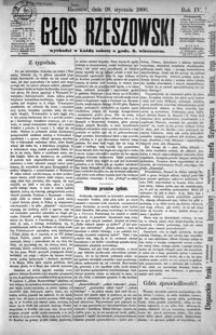 Głos Rzeszowski. 1900, R. 4, nr 1-52