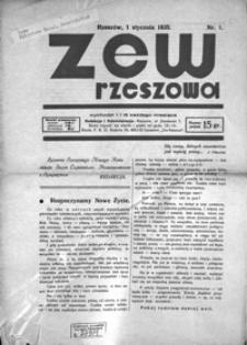Zew Rzeszowa. 1935, R. 2, nr 1-24