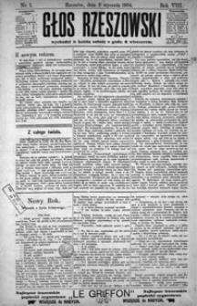 Głos Rzeszowski. 1904, R. 8, nr 1-52