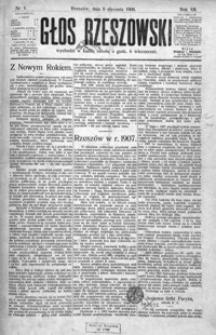 Głos Rzeszowski. 1908, R. 12, nr 1-52