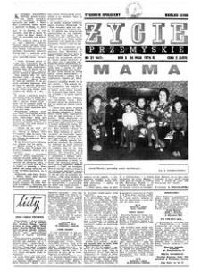 Życie Przemyskie : tygodnik społeczny. 1976, R. 10, nr 21 (447) (26 maja)