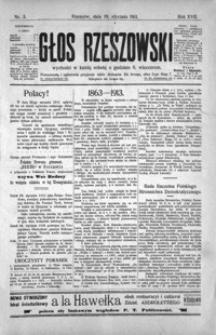 Głos Rzeszowski. 1913, R. 17, nr 1-51