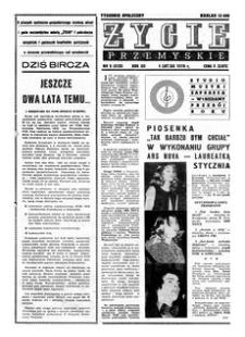 Życie Przemyskie : tygodnik społeczny. 1978, R. 12, nr 5 (535) (1 lutego)