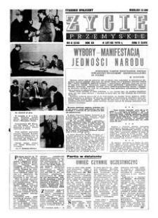 Życie Przemyskie : tygodnik społeczny. 1978, R. 12, nr 6 (536) (8 lutego)