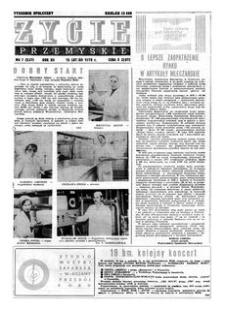 Życie Przemyskie : tygodnik społeczny. 1978, R. 12, nr 7 (537) (15 lutego)