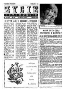 Życie Przemyskie : tygodnik społeczny. 1978, R. 12, nr 12 (542) (22 marca)