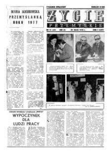Życie Przemyskie : tygodnik społeczny. 1978, R. 12, nr 13 (543) (29 marca)