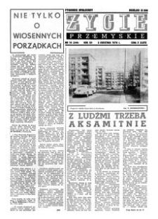 Życie Przemyskie : tygodnik społeczny. 1978, R. 12, nr 14 (544) (5 kwietnia)