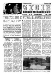 Życie Przemyskie : tygodnik społeczny. 1978, R. 12, nr 15 (545) (12 kwietnia)