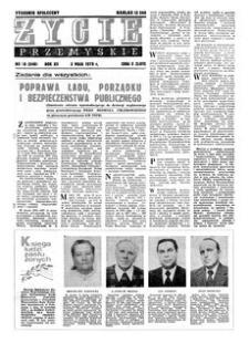 Życie Przemyskie : tygodnik społeczny. 1978, R. 12, nr 18 (548) (3 maja)