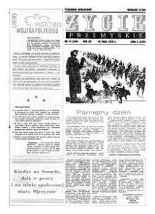Życie Przemyskie : tygodnik społeczny. 1978, R. 12, nr 19 (549) (10 maja)