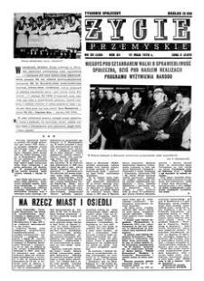 Życie Przemyskie : tygodnik społeczny. 1978, R. 12, nr 20 (550) (17 maja)