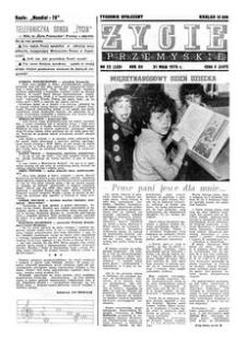 Życie Przemyskie : tygodnik społeczny. 1978, R. 12, nr 22 (552) (31 maja)