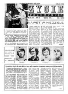 Życie Przemyskie : tygodnik społeczny. 1978, R. 12, nr 23 (553) (7 czerwca)