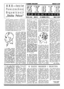 Życie Przemyskie : tygodnik społeczny. 1978, R. 12, nr 25 (555) (21 czerwca)