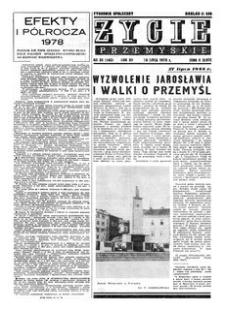 Życie Przemyskie : tygodnik społeczny. 1978, R. 12, nr 30 (560) (26 lipca)