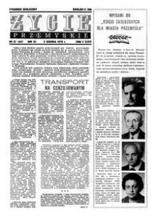 Życie Przemyskie : tygodnik społeczny. 1978, R. 12, nr 31 (561) (2 sierpnia)
