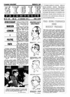 Życie Przemyskie : tygodnik społeczny. 1978, R. 12, nr 39 (569) (27 września)